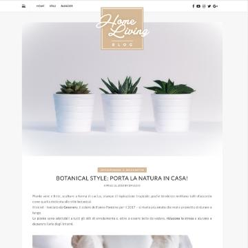 home living blog